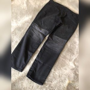 PLUS SIZE Knee patch ROCKSTAR jeans